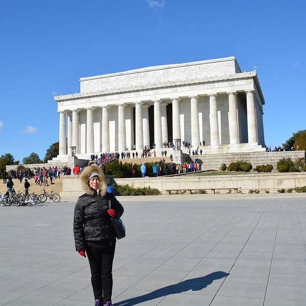 美国林肯纪念堂