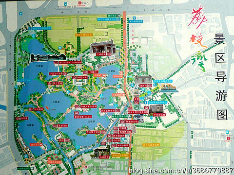 广州旅游景点 手绘图_广州手绘图