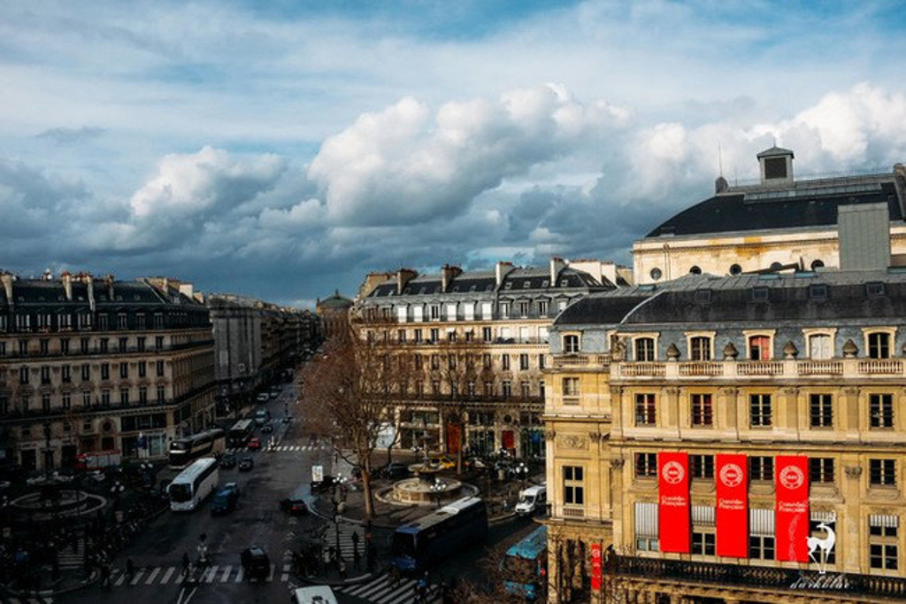 在巴黎,感受建筑的神奇