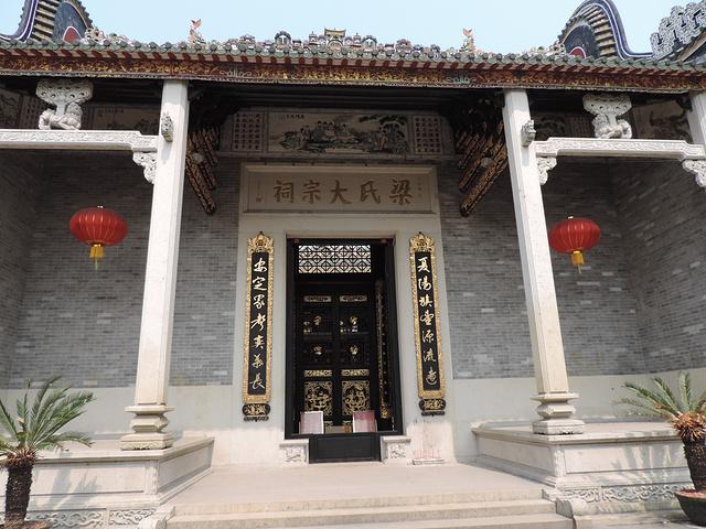 古塔,古榕和古建筑遗址等一批文物古迹,但最多的建筑是各姓祠堂图片