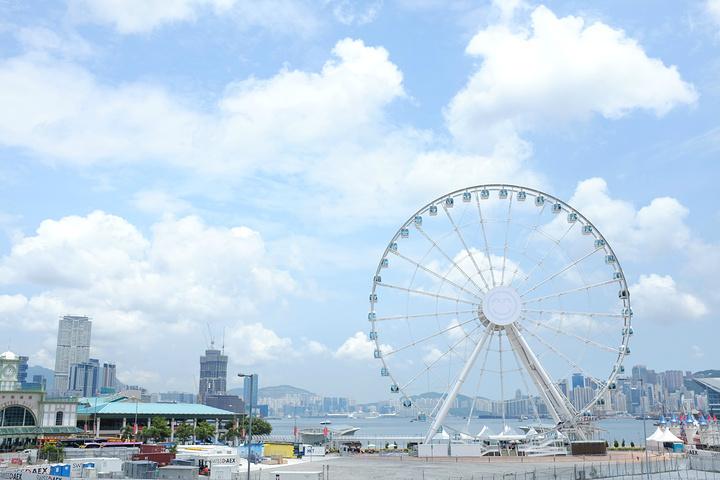 香港摩天輪簡筆畫