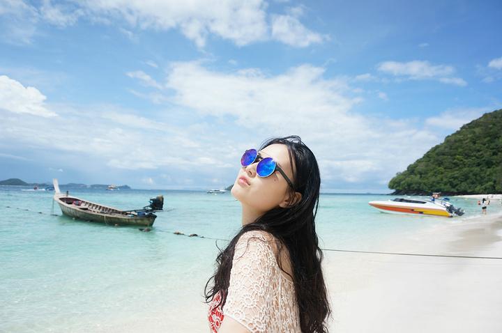 我们是在某宝订的珊瑚岛和皇帝岛的一日游.