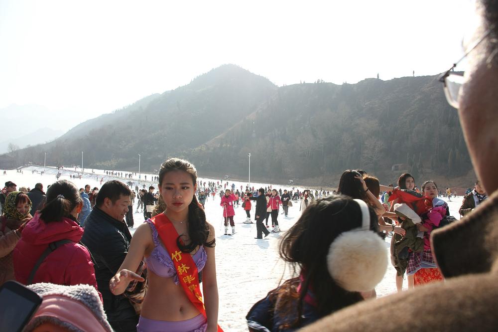 竹林畔滑雪场,我来了!