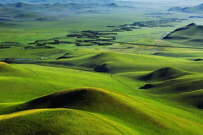 锡林郭勒盟旅游攻略 秋天到了,该去乌拉盖草原贴秋膘啦