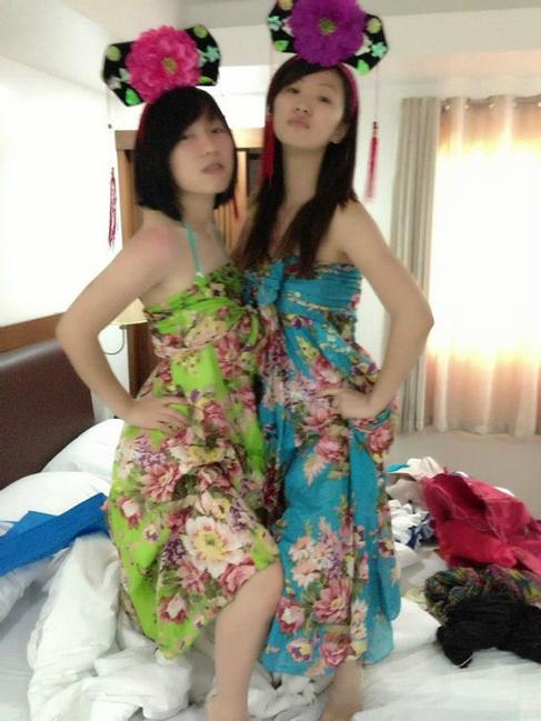 泰国花裙子图片
