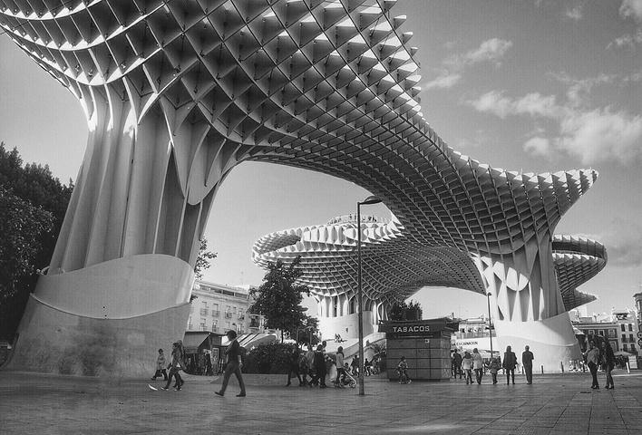 太阳伞结构 图片