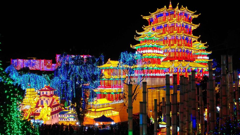 自贡彩灯博物馆旅游景点图片