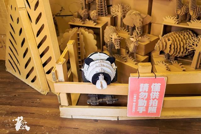 纸箱王~全都是纸箱做的小动物们,觉得自己每年的快递盒子也能做个动物