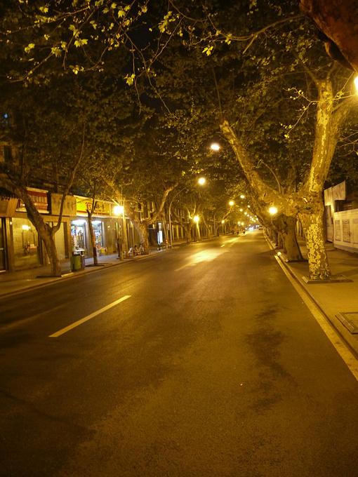 悠闲安静的成都街头
