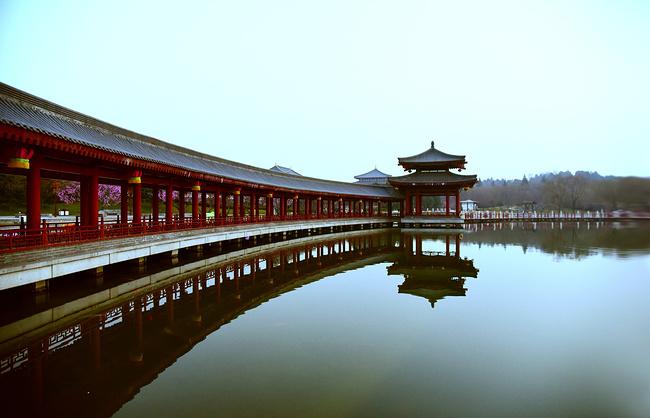 曲江池遗址公园图片