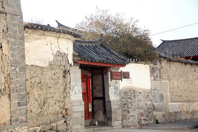喜洲古鎮老房子圖片