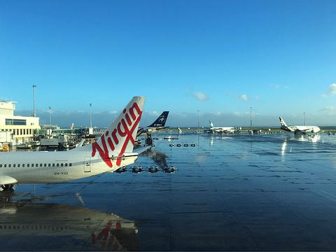 201613:20飞机准点降落在奥克兰机场