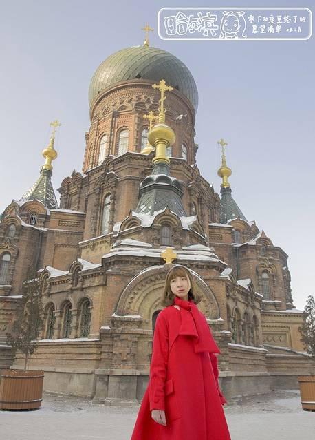 欧式建筑拍照穿什么裙子好看