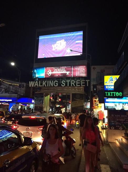 芭堤雅步行街图片