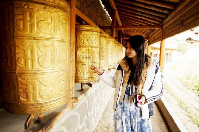 郎木寺图片