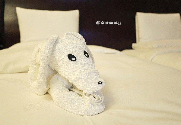酒店浴巾一般叠法图解