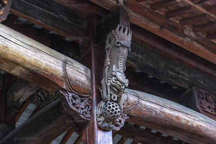 朱家角安麓中精美的木雕 作为顶级的中式传统酒店品牌,在建的安麓酒店