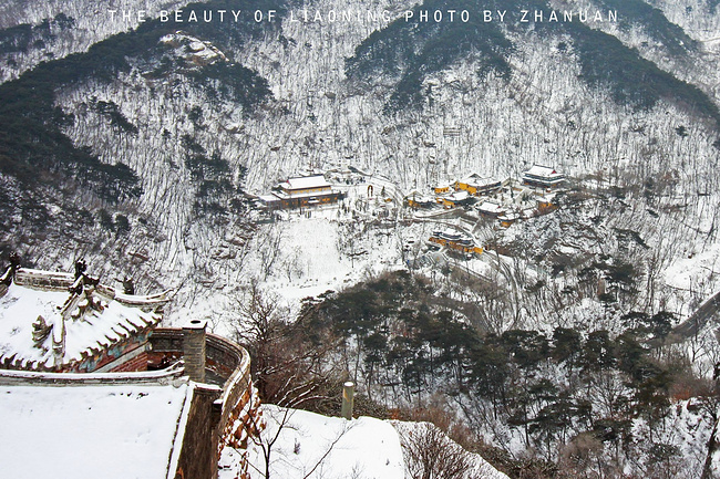 冬季千山风景图片