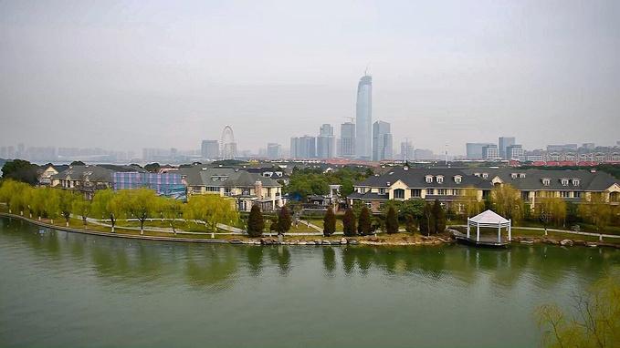 苏州,周庄,金水湾度假别墅,金鸡湖图片