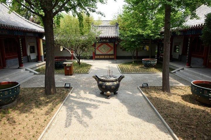 其主要景点有姜太公衣冠冢、姜太公祠、丘穆公剪力墙中看图纸图片