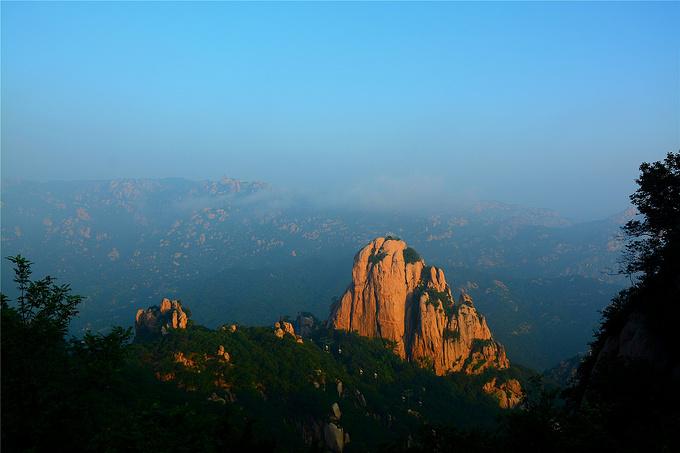 五莲山风景区图片