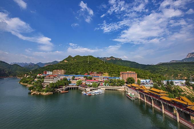 邯郸旅游攻略 醉美京娘湖,太行山下的小三峡  京娘湖风景区整个景区