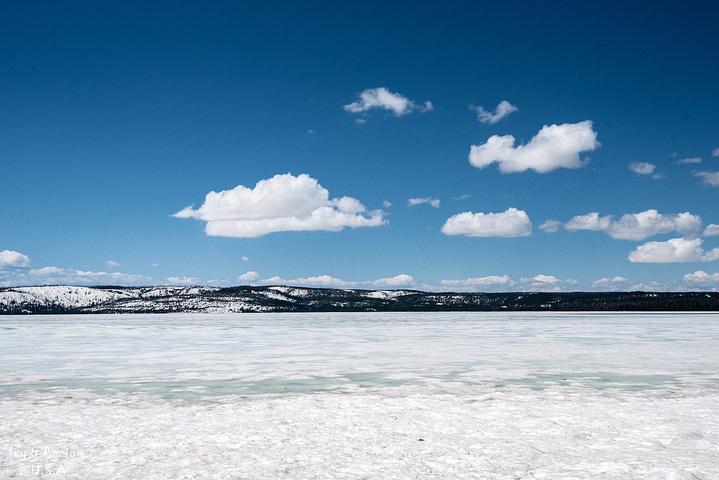 这一路上,景色慢慢由春天变为冬天,山谷里,树林间,草地上夹杂着皑皑白