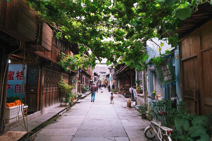 來到了臨海紫陽古街,紫陽古街是臨海市第一古街,街道從北到南,全長