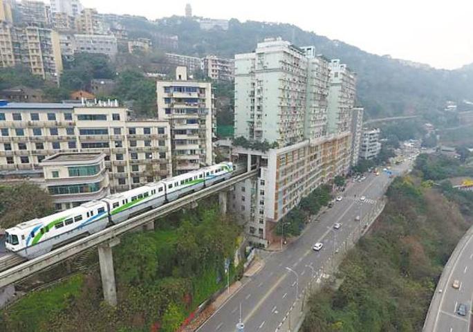 2019有人說,重慶是神一樣的山城,也有神一樣的交通.有圖片