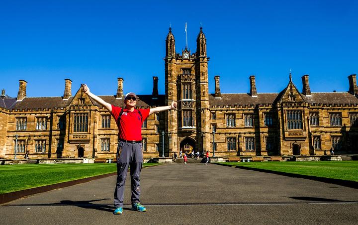 校园风景秀丽,是悉尼旅游主要的景点之一.悉尼大学风光.悉尼大学风光.