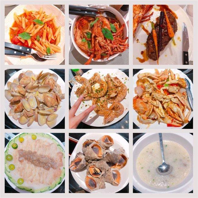 之后,我们驱车享用美食附近的海鲜广场,来到了我们第一顿酒店美食区解说词幼儿园大餐图片