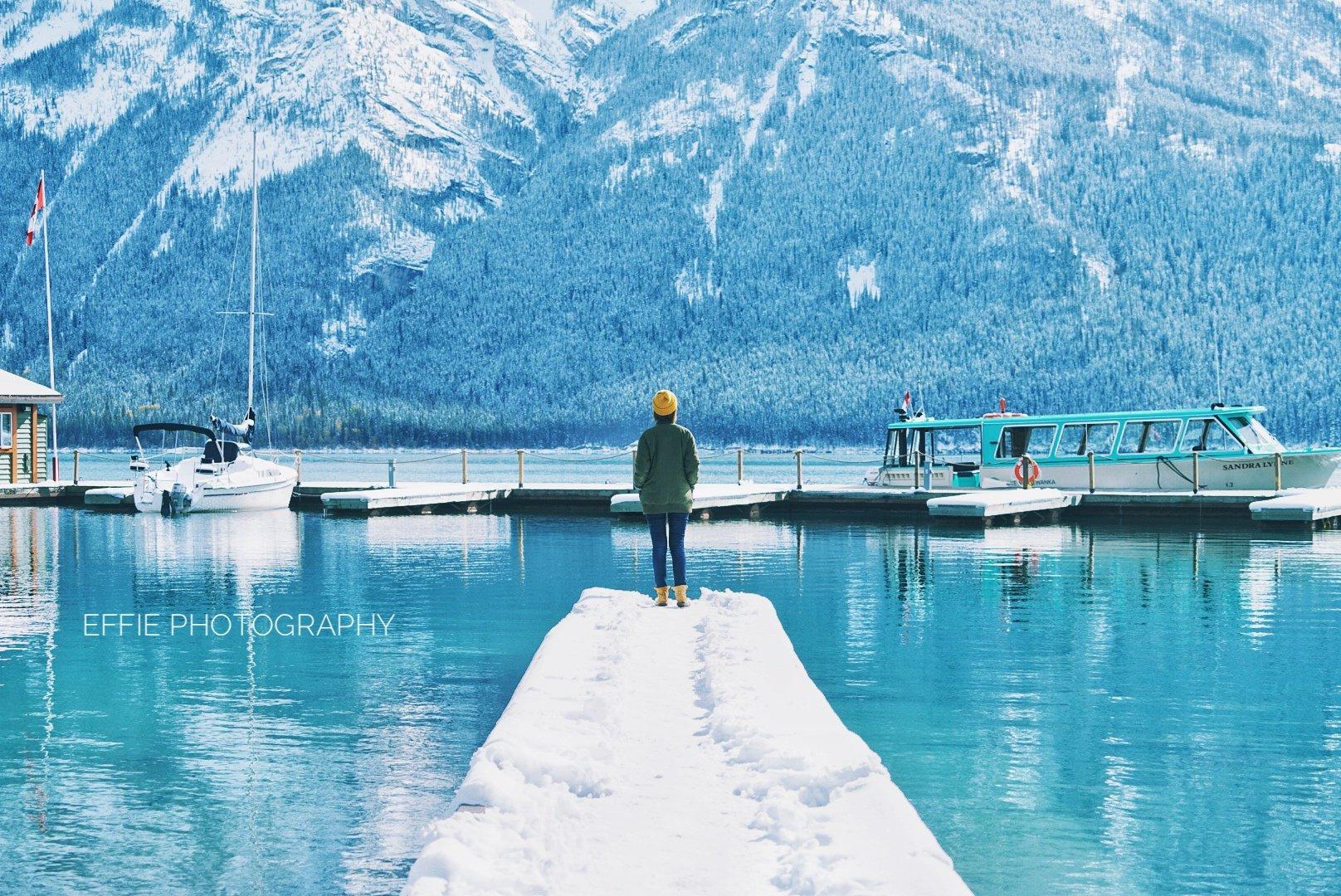 邂逅漫天大雪的加西班夫贾斯伯之旅(附旅行中高效的手机修图方法)