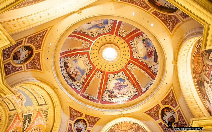 威尼斯人的核芯大堂――瑰丽堂如果说在澳门五大著名赌场中,可以泡上