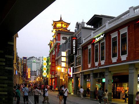 上下九商业步行街旅游景点攻略图淮南九华山v商业攻略一日游图片