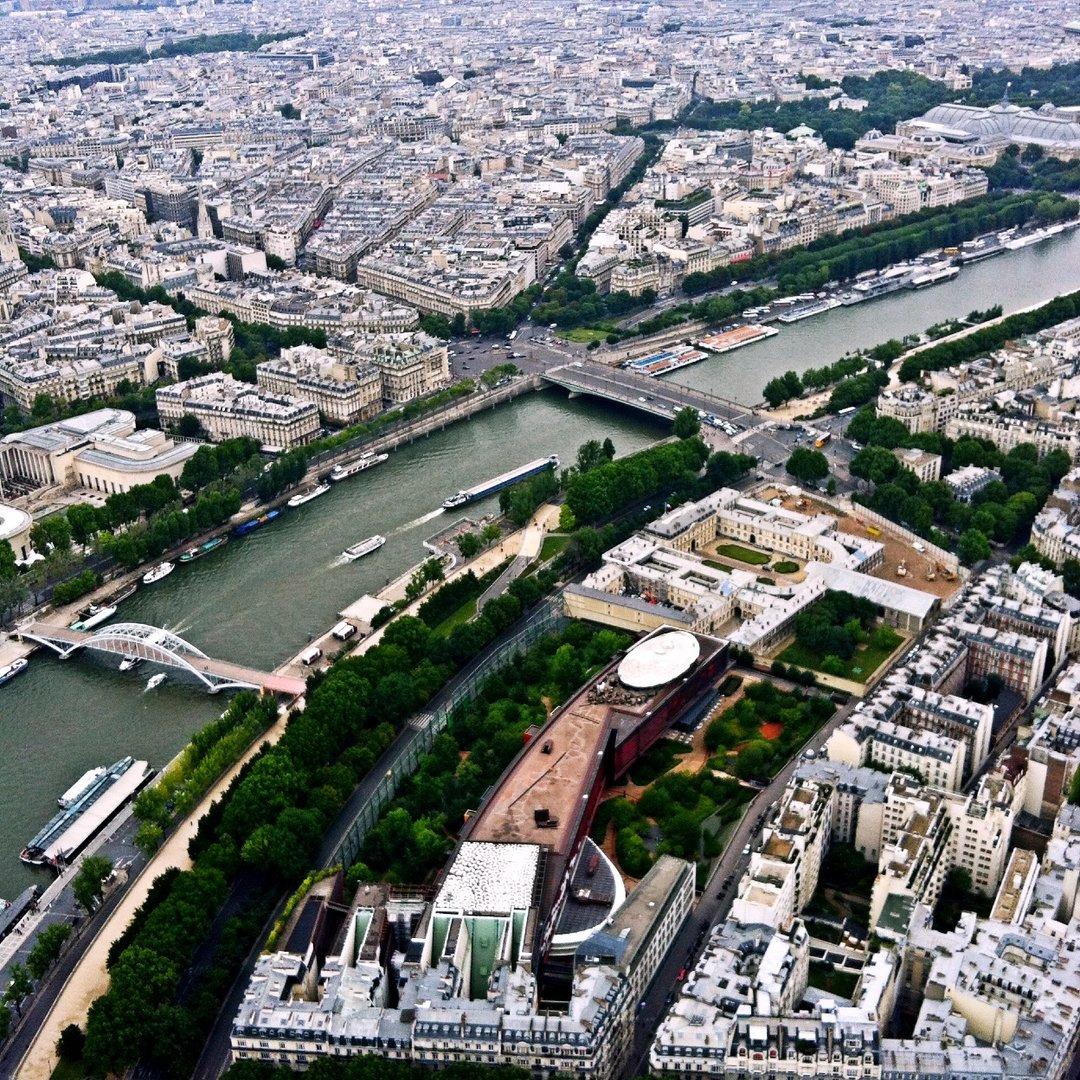 感受巴黎的美