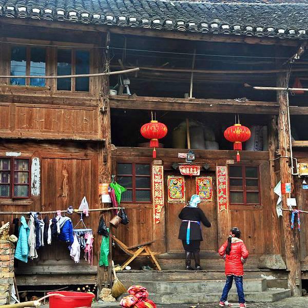 侗族木房子装修