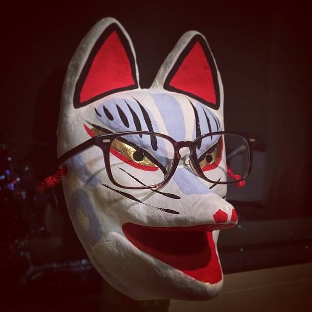 荷买的狐狸面具