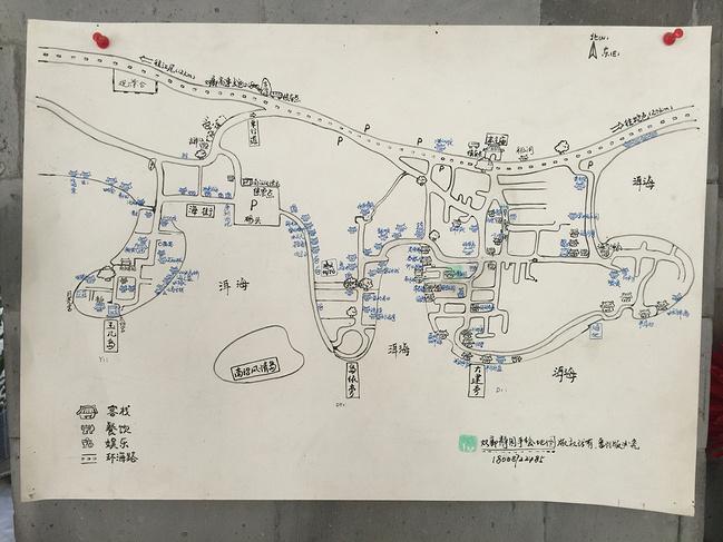 昆明景点手绘地图