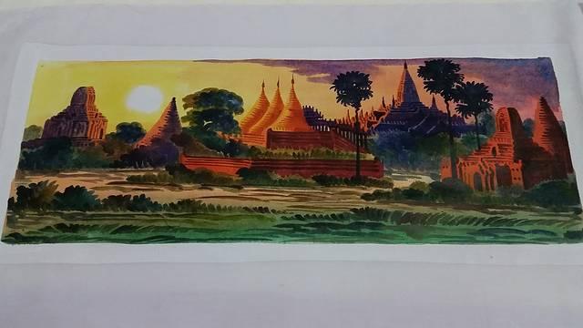 多少佛塔烟云中——游缅甸