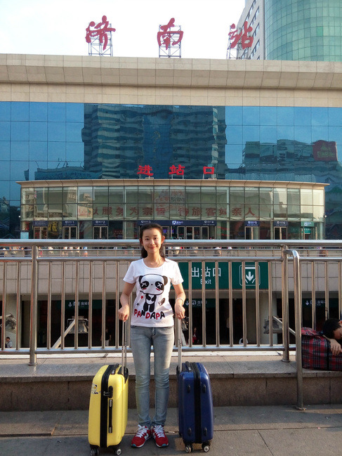 济南火车站图片