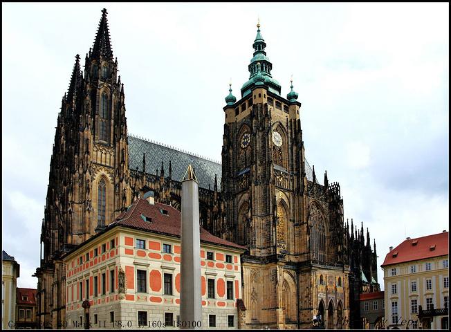 欧式城堡外观效果图