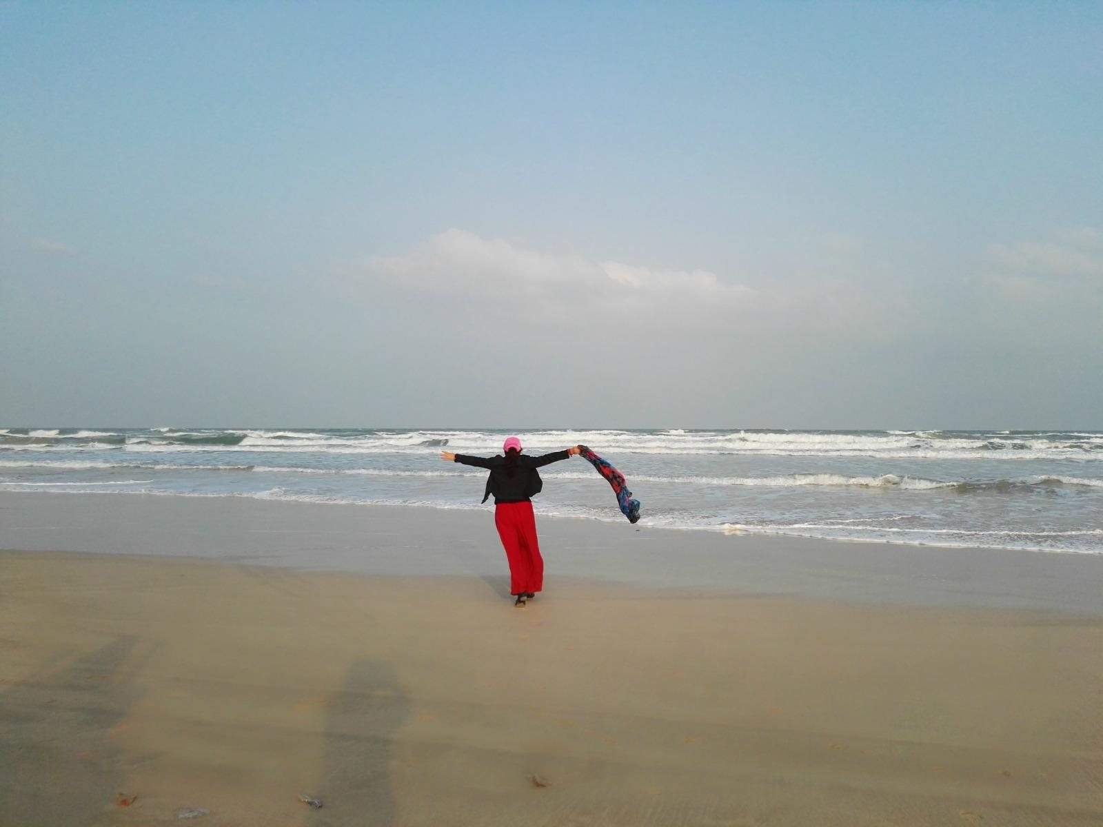 腻在海边的新春佳节