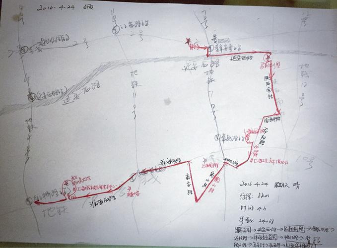 广州旅游路线图手绘