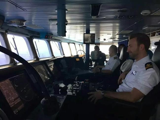 船长室参观图片