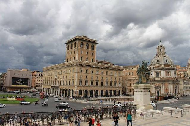 威尼斯建筑立面手绘