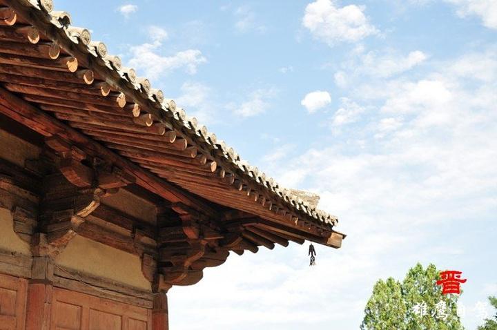 大殿为我国现存最古老的一座唐代木结构建筑