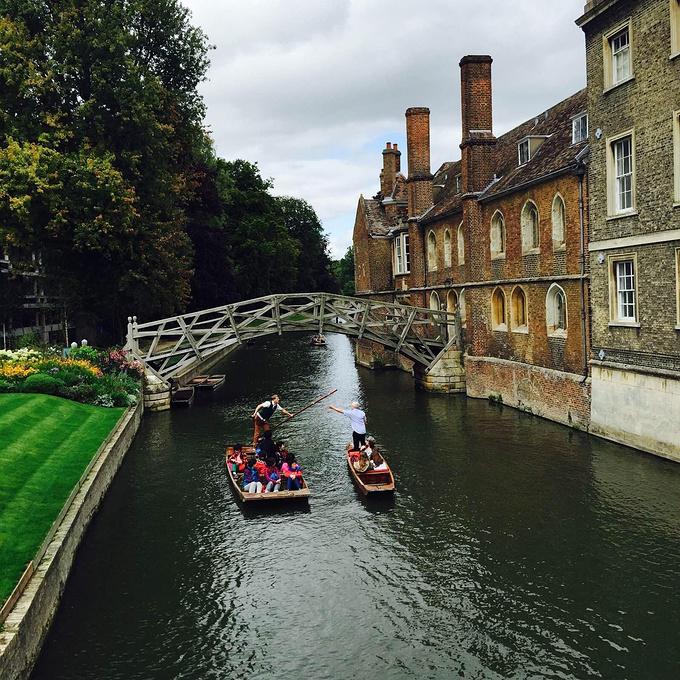 剑桥风景图片