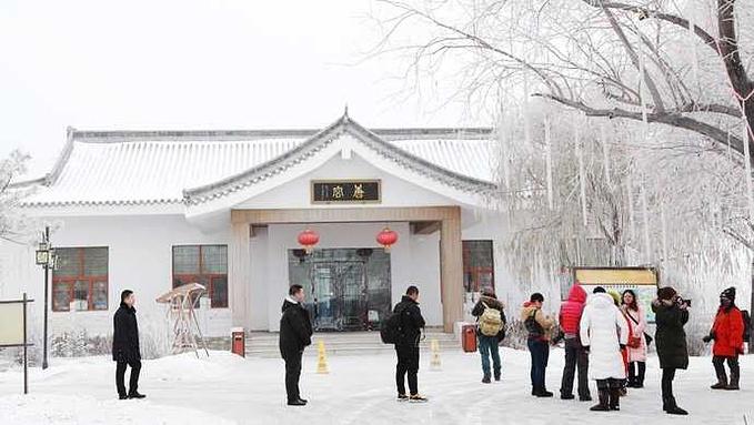 在大庆唐宫温泉别墅,仿佛回到梦里唐朝.