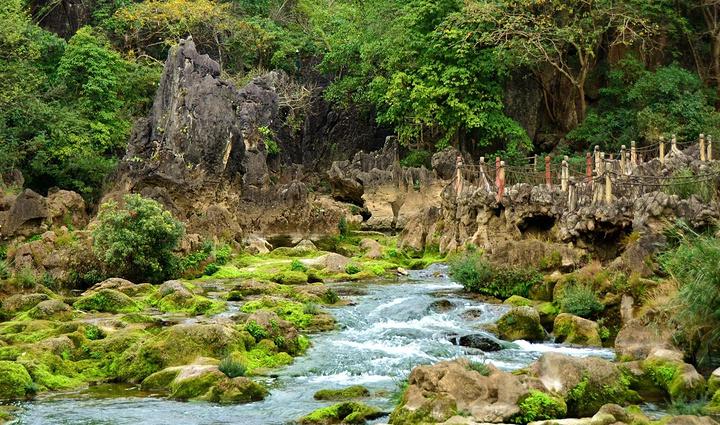 """天星桥景区在贵州黄果树瀑布下游6公里处_天星桥风景区""""的评论图片"""