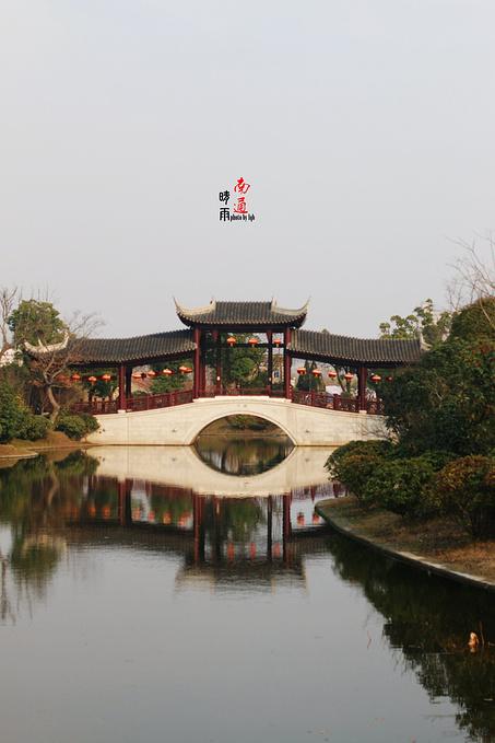 晴雨南通之狼山濠河,博物馆